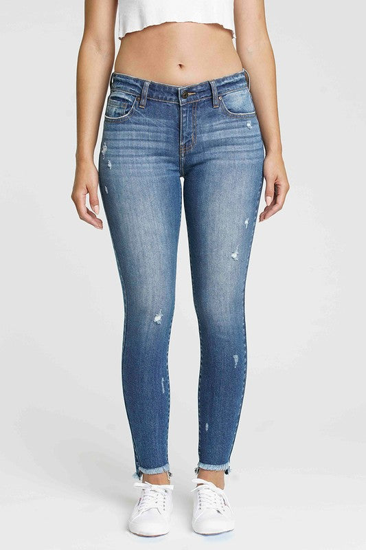 Jude Mid Rise Skinny Jean