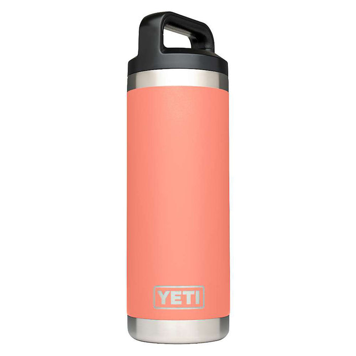 Yeti Rambler 18oz Bottle- Coral