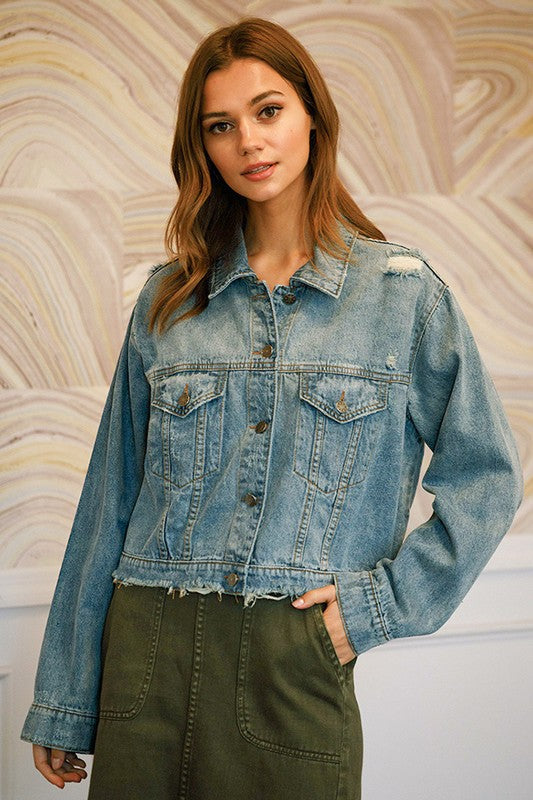Distressed but Not Stressed Jacket