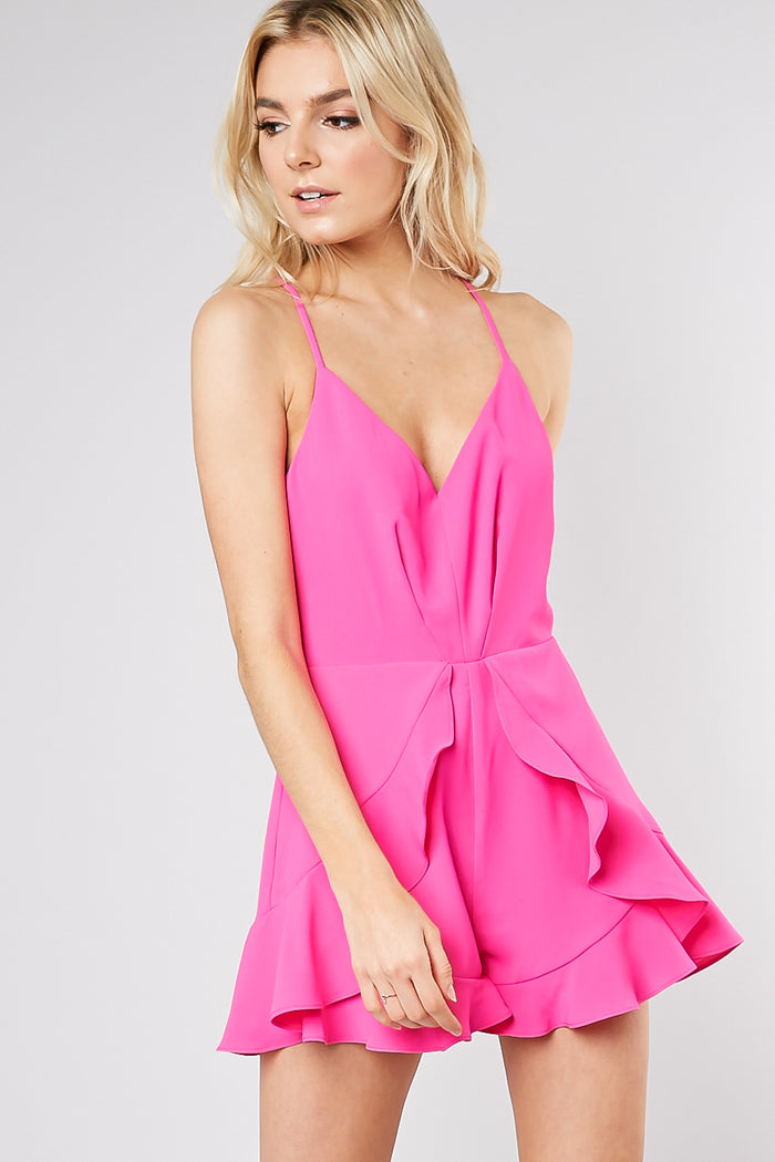 f8648e19c Pink Is The New Black Romper- GY0247/HPINK