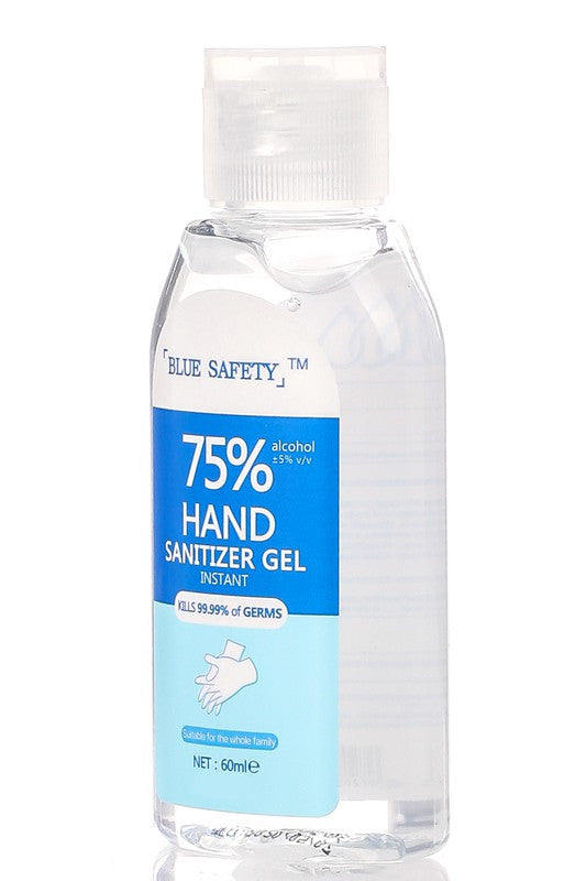 Blue Safety Hand Sanitizer Gel