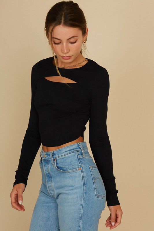 Make the Cut Crop Top