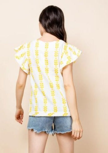 You Are My Sunshine Blouse