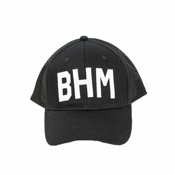 Aviate BHM Trucker Hat- Black