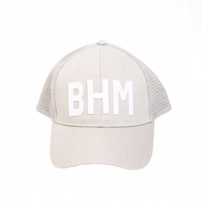 Aviate BHM Trucker Hat- Grey