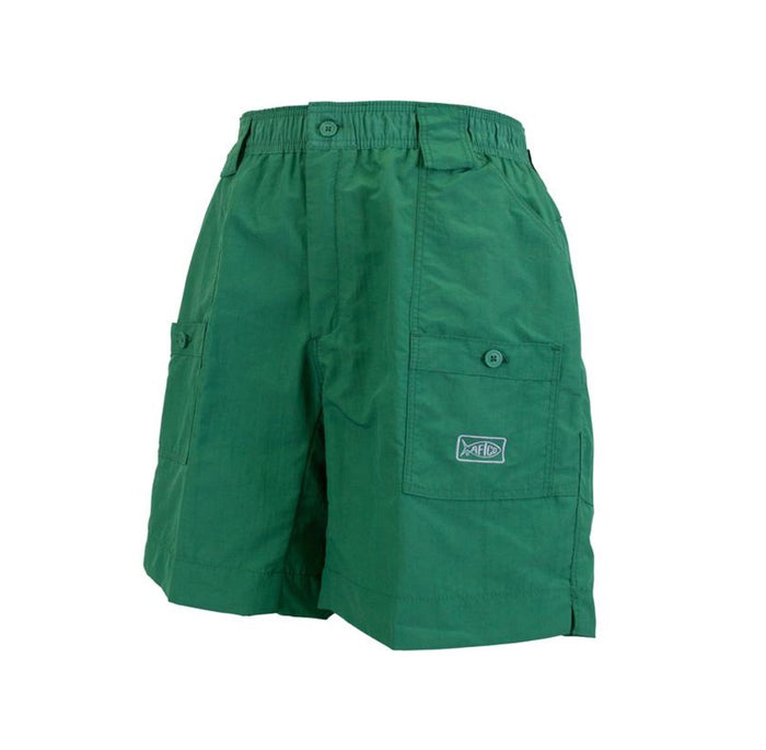 Aftco Long Fishing Short-  Hunter Green