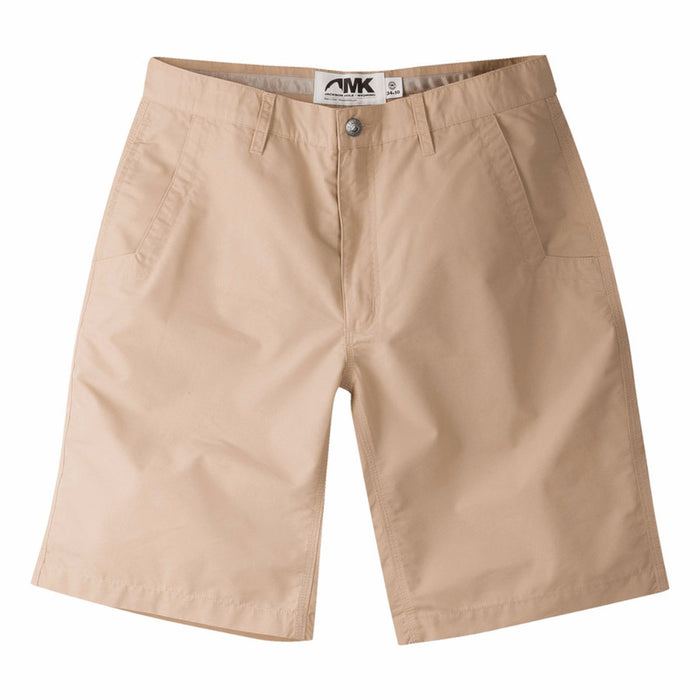 Mountain Khaki Poplin Short- Khaki