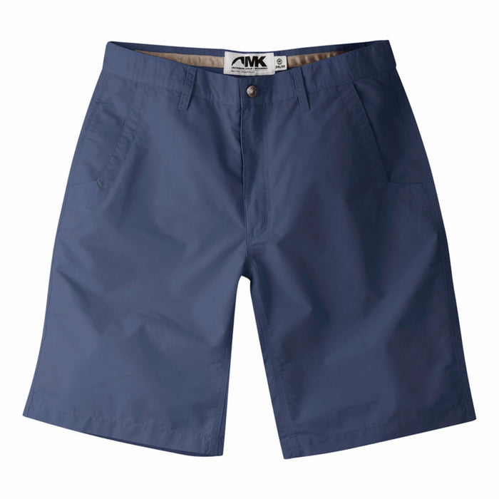 Mountain Khaki Poplin Short- Navy