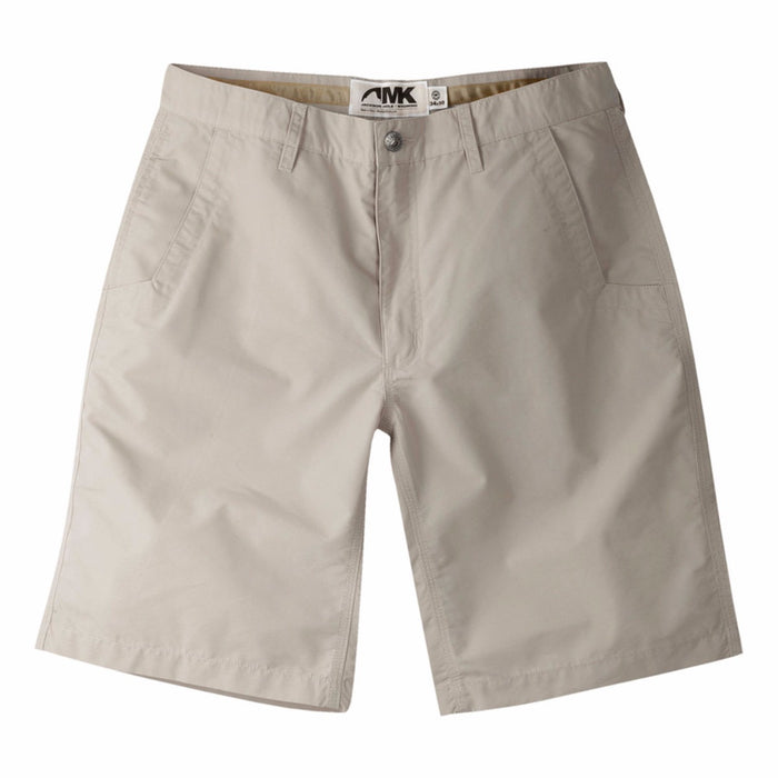 Mountain Khaki Poplin Short- Oatmeal