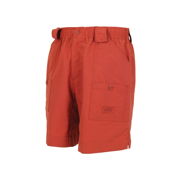 Aftco Long Fishing Short- Paprika
