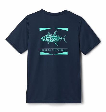 Columbia PFG Offshore S/S Youth Performance Tee