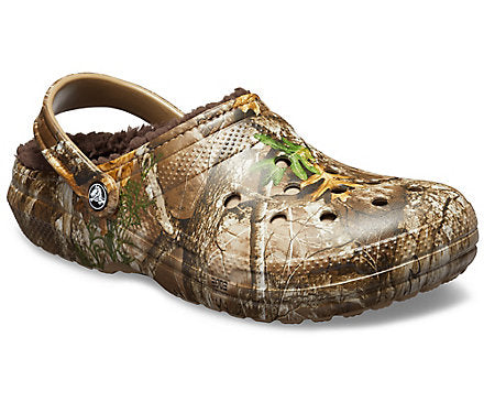 Crocs Classic Lined Realtree Edge Clog