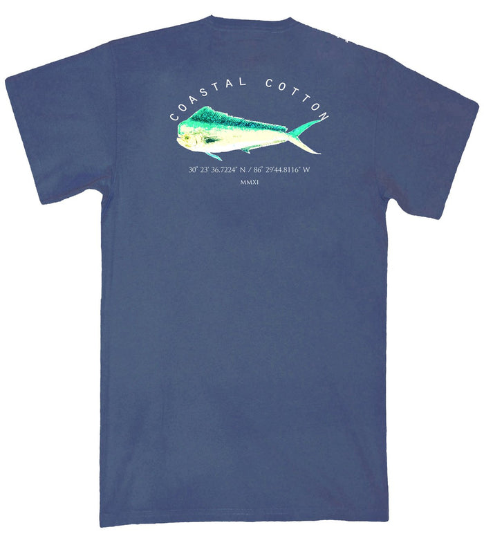 Coastal Cotton Mahi Coordinates Tee- Indigo- IT-MC-IN