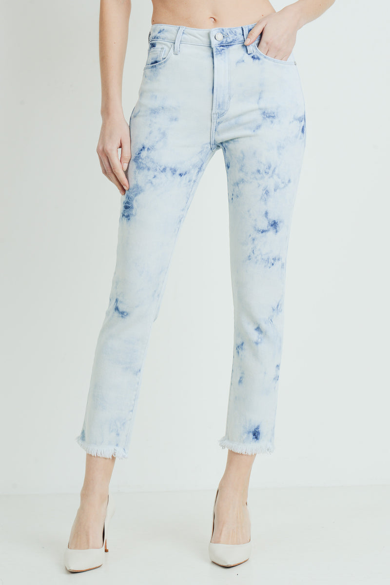 Just Black Denim Tie-Dye Skinny