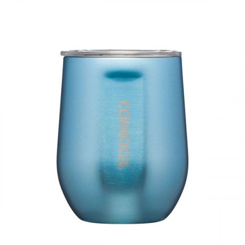 Corkcicle 12oz Stemless Wine Glass- Moonstone Metallic- 2312EMM
