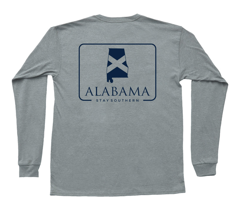 State Company Alabama State Patch Long Sleeve Tee