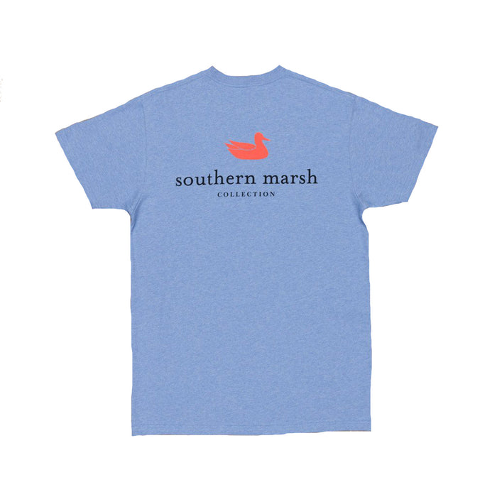 Southern Marsh Authentic Tee- Washed Blue