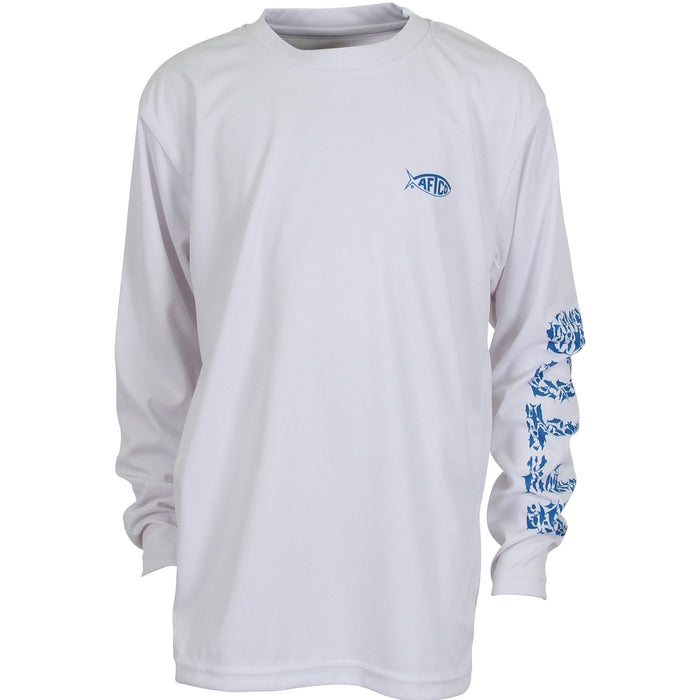 Aftco Youth Jigfish L/S Performance Tee