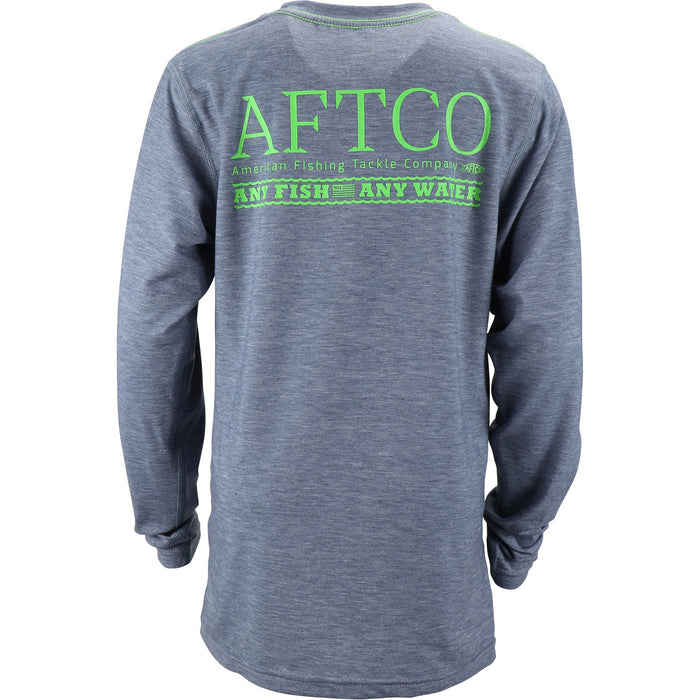 Aftco Youth Anytime L/S Performance Tee