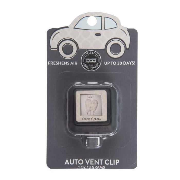 Bridgewater Candle Company Sweet Grace Auto Vent Clip