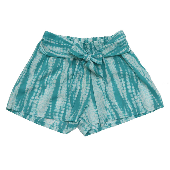 Set For Santorini Shorts- Turquoise- P-4675-TUR