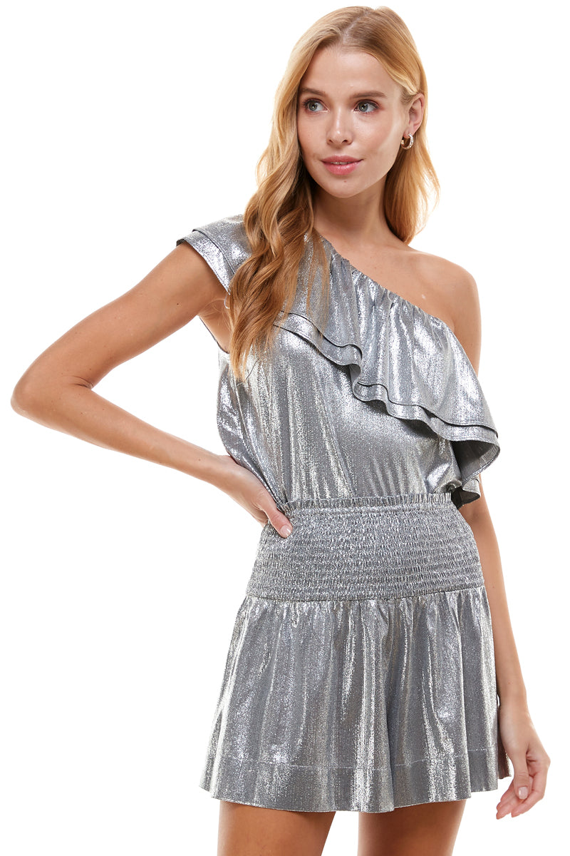 Metallic Posh Short