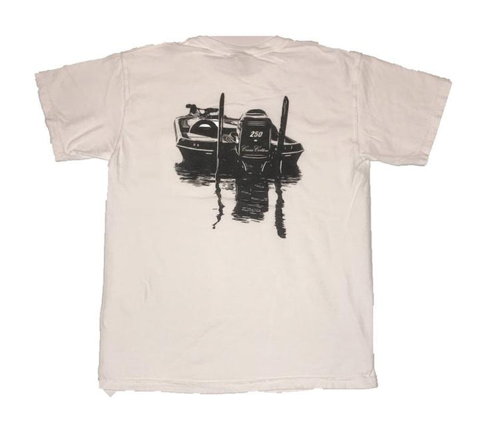 Coosa Cotton First Flight Pocket Tee- White- COOSA FIRST FLIGHT II-WHT