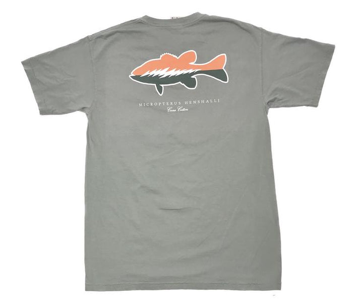 Coosa Cotton Spot Pocket Tee- Bay- COOSA SPOT-BAY