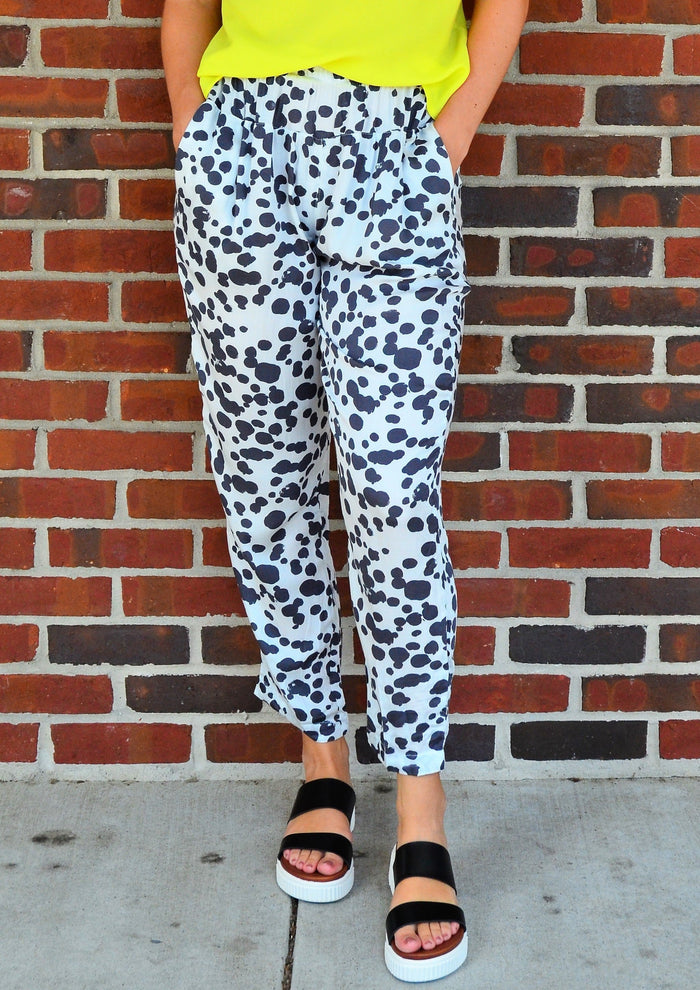 Right on the Dot Spotted Pant