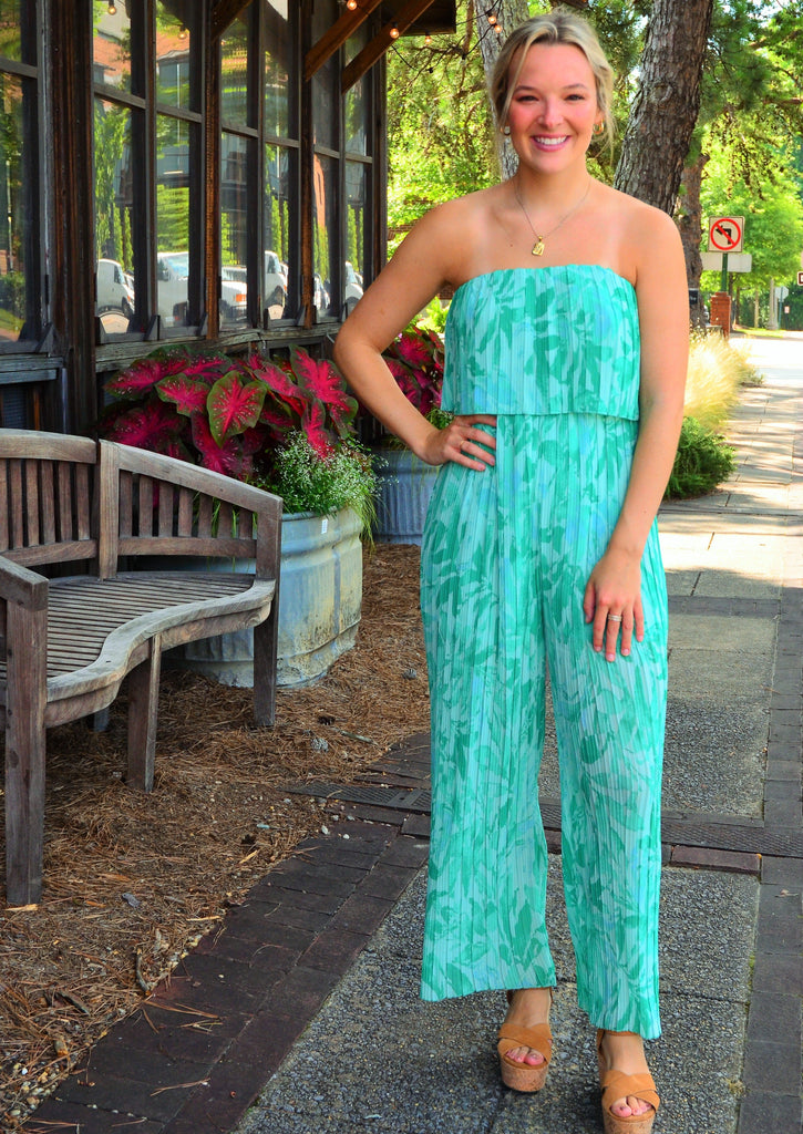 Pretty in Palm Jumpsuit