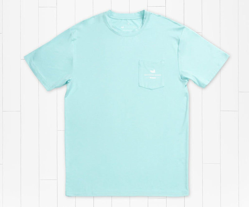 Southern Marsh FieldTec Heathered Performance Snapper Tee