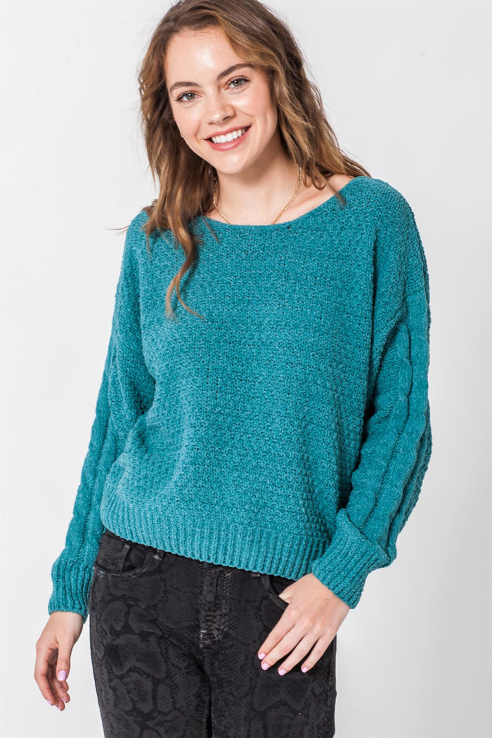 Knit Your Average Sweater- FL20A027