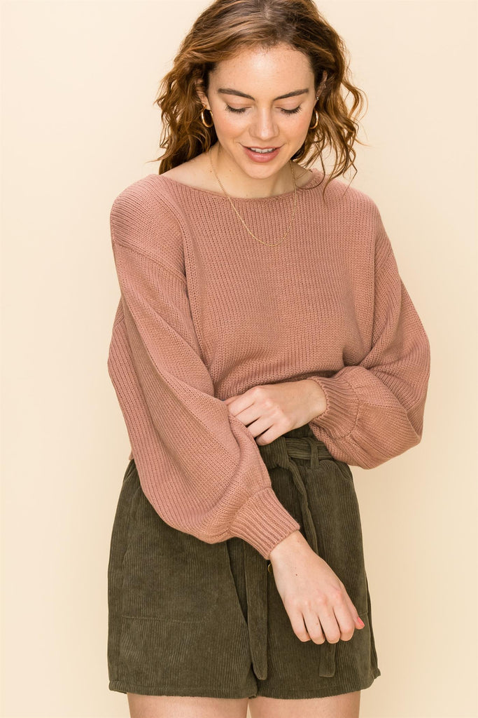 The Best Basic Cropped Pullover