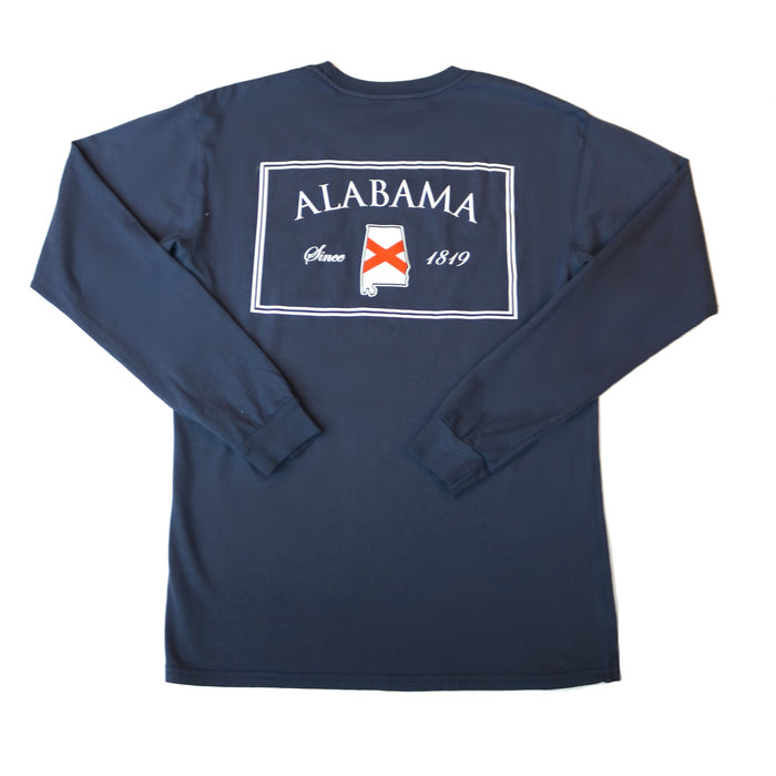 The State Company AL Patch T-shirt - AL PATCH L/S-NVY