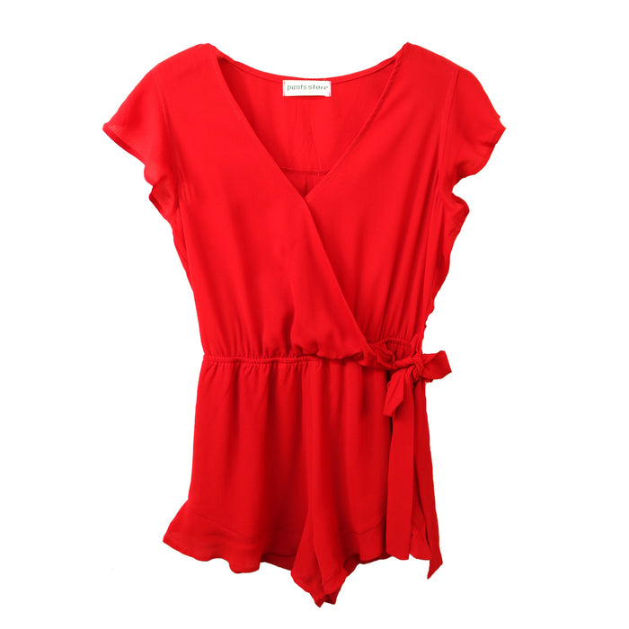 Walk of Champions Romper- SL6692-RED