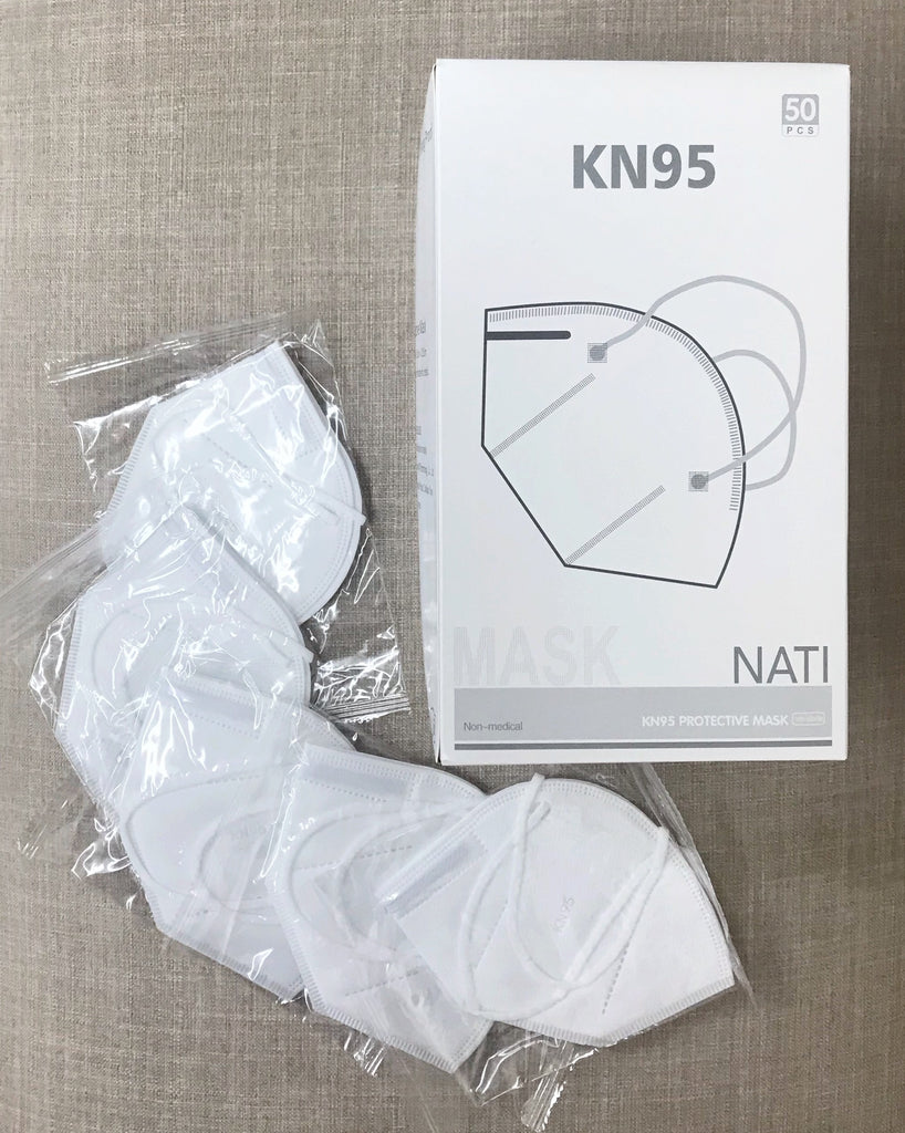 KN95 Protective Face Mask- 50 Pack