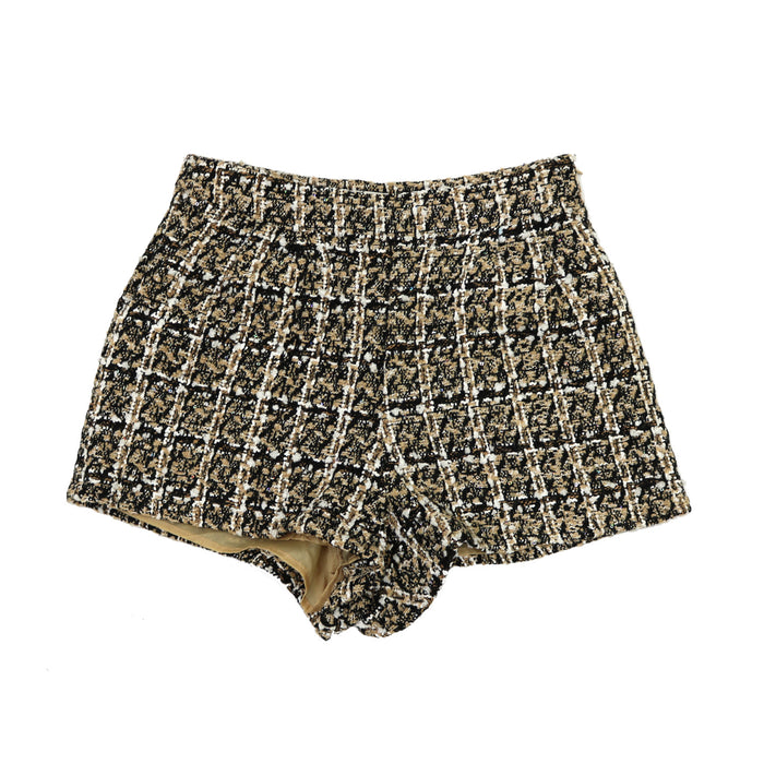 Tweed You With Me Shorts - SL8159-TAU