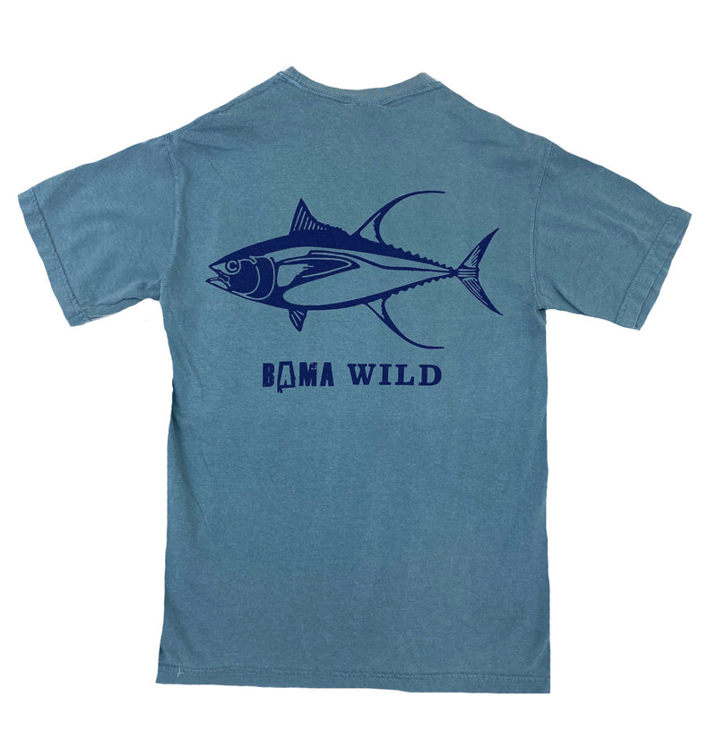 Bama Wild Short Sleeve Tee - Tuna
