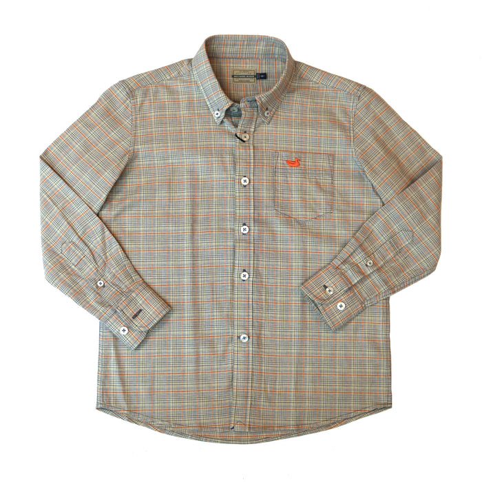 Southern Marsh Youth Davidson Washed Check Button Down - YVDSN-SLBN