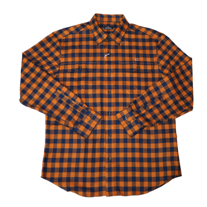 Fish Hippie Woodbreak Flannel - FH-F1062-BUR