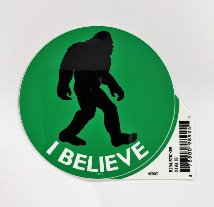 Bigfoot Circular Sticker