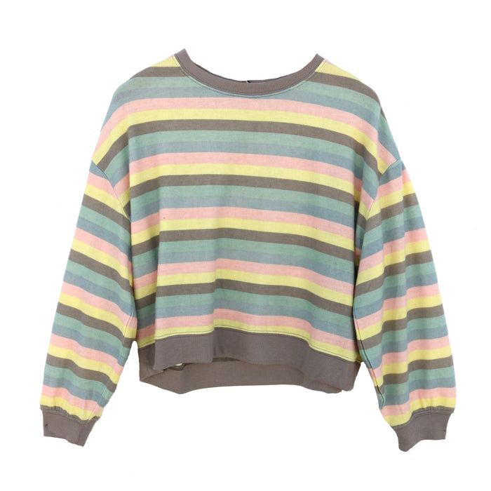 Z Supply Rainbow Stripe Pullover - ZT191710-RBW