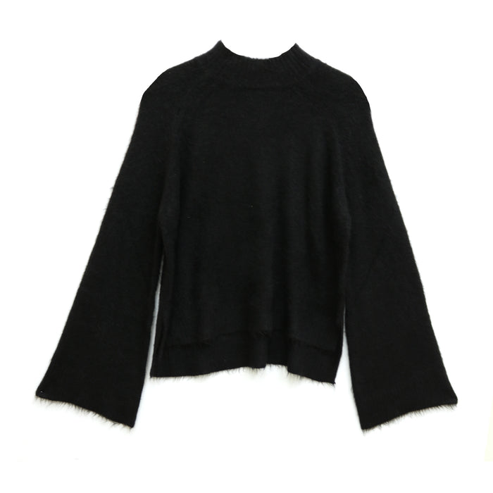 Fuzzy Frenzy Sweater  - JT57-34-BLK