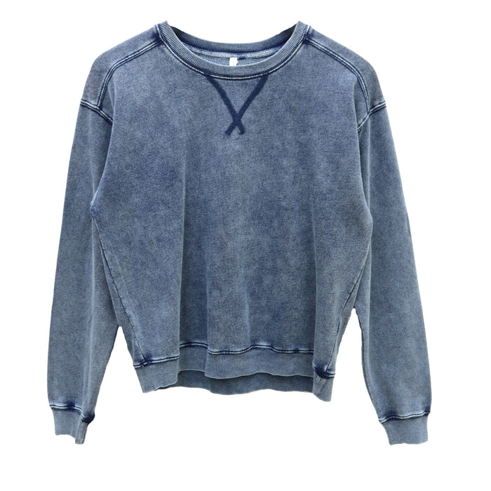 Z Supply Knit Denim Pullover - ZT191609-IND