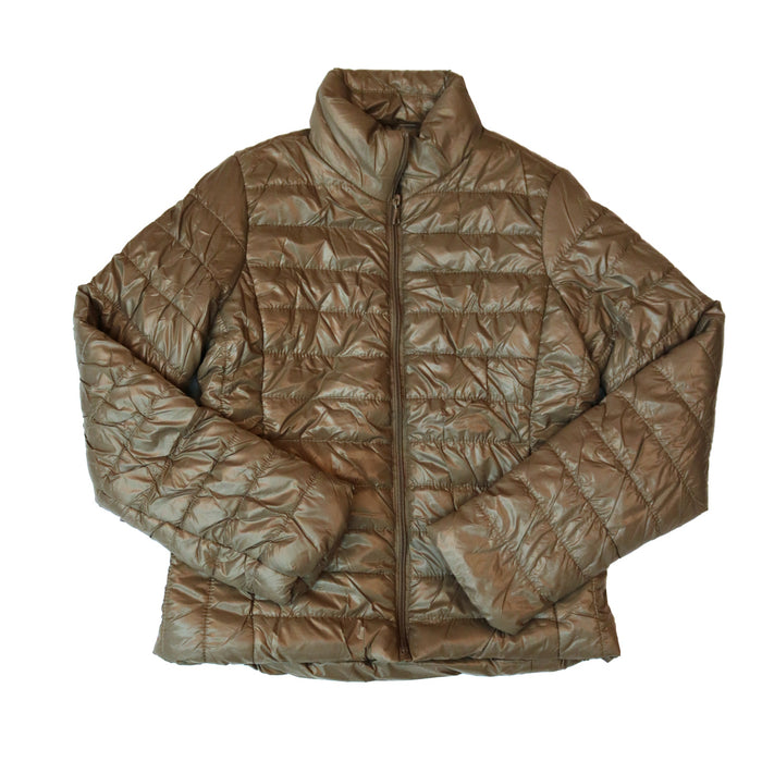 Winter Worthy Short Jacket - J10118-TAN