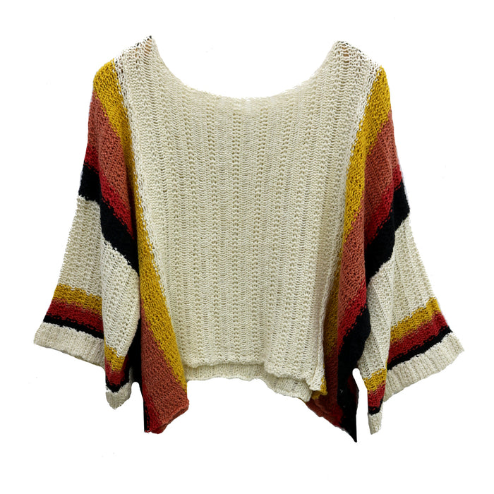 All In Sweater - L2713-NATURAL