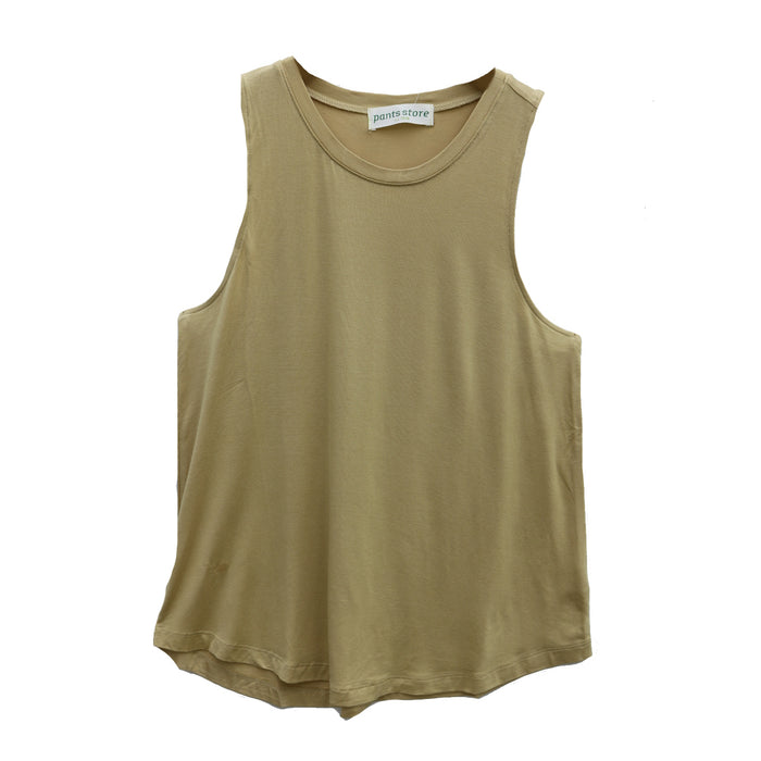 Back To Basics Crew Tank- Mango - DZ19F264-MAN