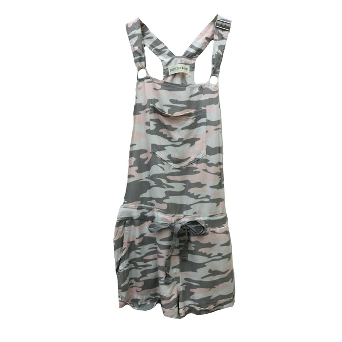 Walk By Me Overall- Grey/Blush - S14640UBA-GRY/BLS