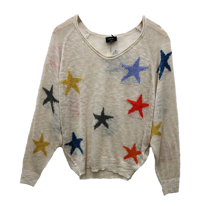 Seeing Stars Sweater- Multi - BL1038-MUL