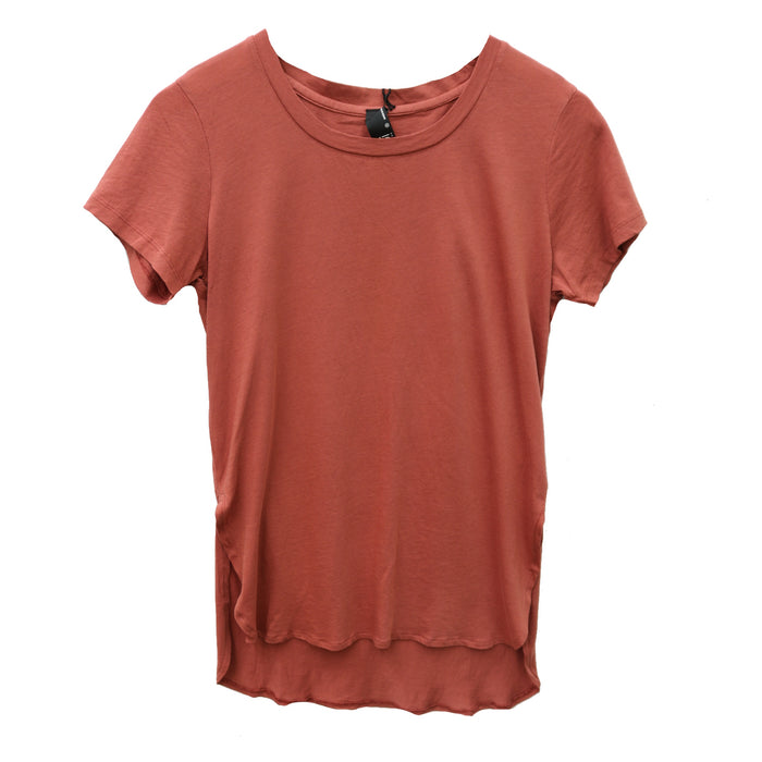 Bobi High Low T-Shirt - 519-81118-CAY